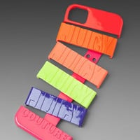 Neon Multi Stackable Hard Cover Case For Iphone 4/4s