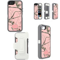 Defender Series with Realtree Camo Case For Iphone 5
