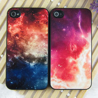 Galaxy Shading Hard Cover Case For Iphone 4/4s/5