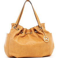 MICHAEL Michael Kors Jet Set Chain Ring Tote, Tan - Michael Kors