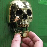 Skull Door Knocker - $140