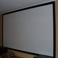 Amazon.com: Blackout Fabric for DIY Projector Screen-66x110-Inch: Electronics