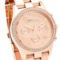 Marc by Marc Jacobs Henry Glitz Chronograph Watch | SHOPBOP