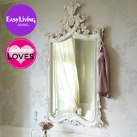 Provencal Heart Top Mirror  |  Mirrors  |  Mirrors & Screens  |  French Bedroom Company