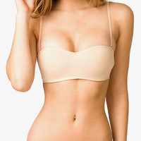 Wireless Microfiber Convertible &lt;br&gt;Bandeau Bra | FOREVER 21 - 2000047549