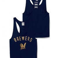 Milwaukee Brewers Mesh Racerback Tank