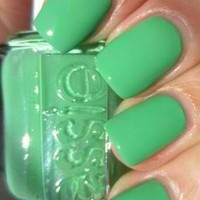 Essie Nail Polish (E801-Mojito Madness) Summer Collections 2012 NEW LIME GREEN