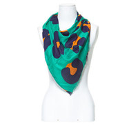 COLOURED ANIMAL PATTERN SCARF - Woman - New this week - ZARA United States