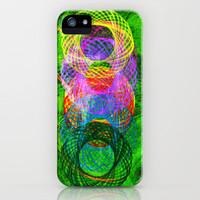 Graffiti circle iPhone Case by Li9z | Society6
