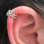 Spiral Ear Cuff Wrap Twisted, No Pierce