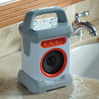 The Water Resistant Wireless Speaker - Hammacher Schlemmer