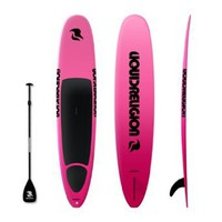 10`6 LIQUID RELIGION SUP Board (FIRE PINK) FREE PADDLE, DECK PAD & FIN - Best Stand Up Paddle Board - Top Quality Paddleboard - Beginner Epoxy SUP Surfboard: Sports & Outdoors