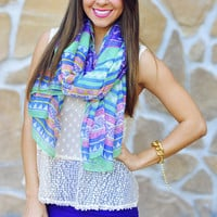 Let Your Colors Burst Scarf: Multi | Hope&#x27;s