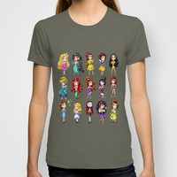 Disney Princesses T-shirt by clayscence