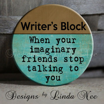 EXCLUSIVE to my Shop Writer's Block When by DesignsbyLindaNeeToo