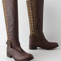 Handbeaded Anoia Boots - Anthropologie.com