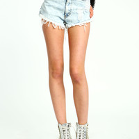 Acid Cut-Off Shorts