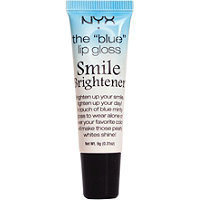 "Nyx Cosmetics The ""Blue Lipgloss"" Smile Brightener Ulta.com - Cosmetics, Fragrance, Salon and Beauty Gifts"