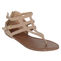 Faux Suede Gladiator Sandal | Shop Shoes at Wet Seal