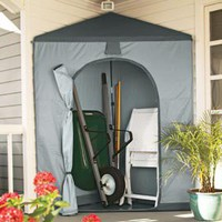 Corner Storage Shed, Pop-up Corner Storage Tent, Backyard Storage | Solutions