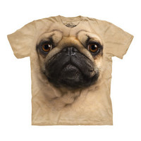 Big Face Pug T-Shirt - buy at Firebox.com