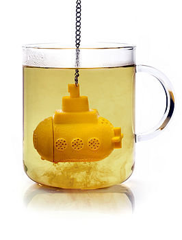tea sub submarine tea infuser by mocha | notonthehighstreet.com