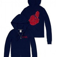Cleveland Indians Bling Perfect Full Zip Hoodie - PINK - Victoria's Secret