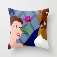Throw Pillows by Jessica Slater Design &amp; Illustration | Society6