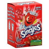 Kool-aid Singles Cherry (For 16.9-ounce Bottles), 12-count Packets (1 Box)): Amazon.com: Grocery & Gourmet Food