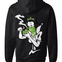 LUCKY BASTARDS WEED DIVA 420 POT WEED HOODIE HOODY SWEATER MEN'S ALL SIZES