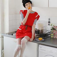 (99+) Unique Bright Red Sailor Dress | MindTheMustard | ASOS Marketplace