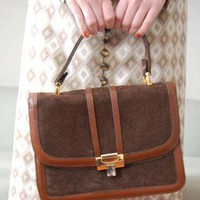 (99+) Tan Leather 70s Satchel Bag | Rag & Bow | ASOS Marketplace
