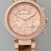 Michael Kors Parker Glitz Chronograph Watch | SHOPBOP