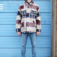(99+) Vintage Aztec Print Shirt Jacket | THE WHITEPEPPER | ASOS Marketplace