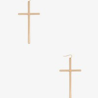 Cross Earrings | FOREVER 21 - 1038843502