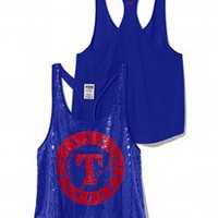 Texas Rangers Bling Racerback Tank - PINK - Victoria&#x27;s Secret