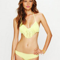 L*Space Fringe Halter Top at Free People Clothing Boutique