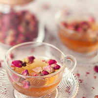 Chamomile, French Roses And Lavender Organic Artisan Tea | Luulla