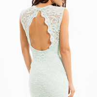 Space Lace Dress $50