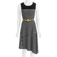Walmart: George Career Essentials Women's Assymetrical Belted Dress