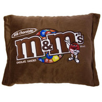 Big Plush M&M's Milk Chocolate Candy Pillow | CandyWarehouse.com Online Candy Store