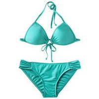 Xhilaration® Junior's Push Up 2-Piece Swimsuit -Mint