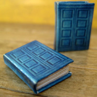 River Song's TARDIS journal from Doctor Who in dollhouse miniature by LittleWooStudio on Etsy