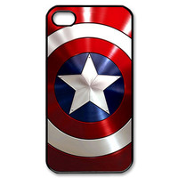 the avengers Captain america Shield 1 apple iphone 4, 4s case cover