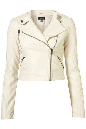 Clean PU Biker Jacket