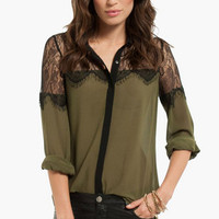 Queen Vic Button Up Shirt $24