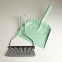 Mint Smiley Dustpan