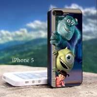 Monster Inc Disney Animation - Design For iPhone 5 Black Case