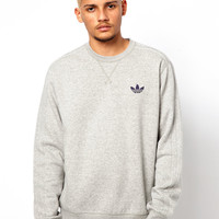 Adidas Originals Sweatshirt with Trefoil Logo