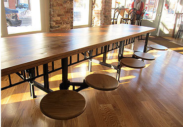 Three Potato Four - Industrial Cafeteria Table 4-Seater / 8-Seater / 12-Seater